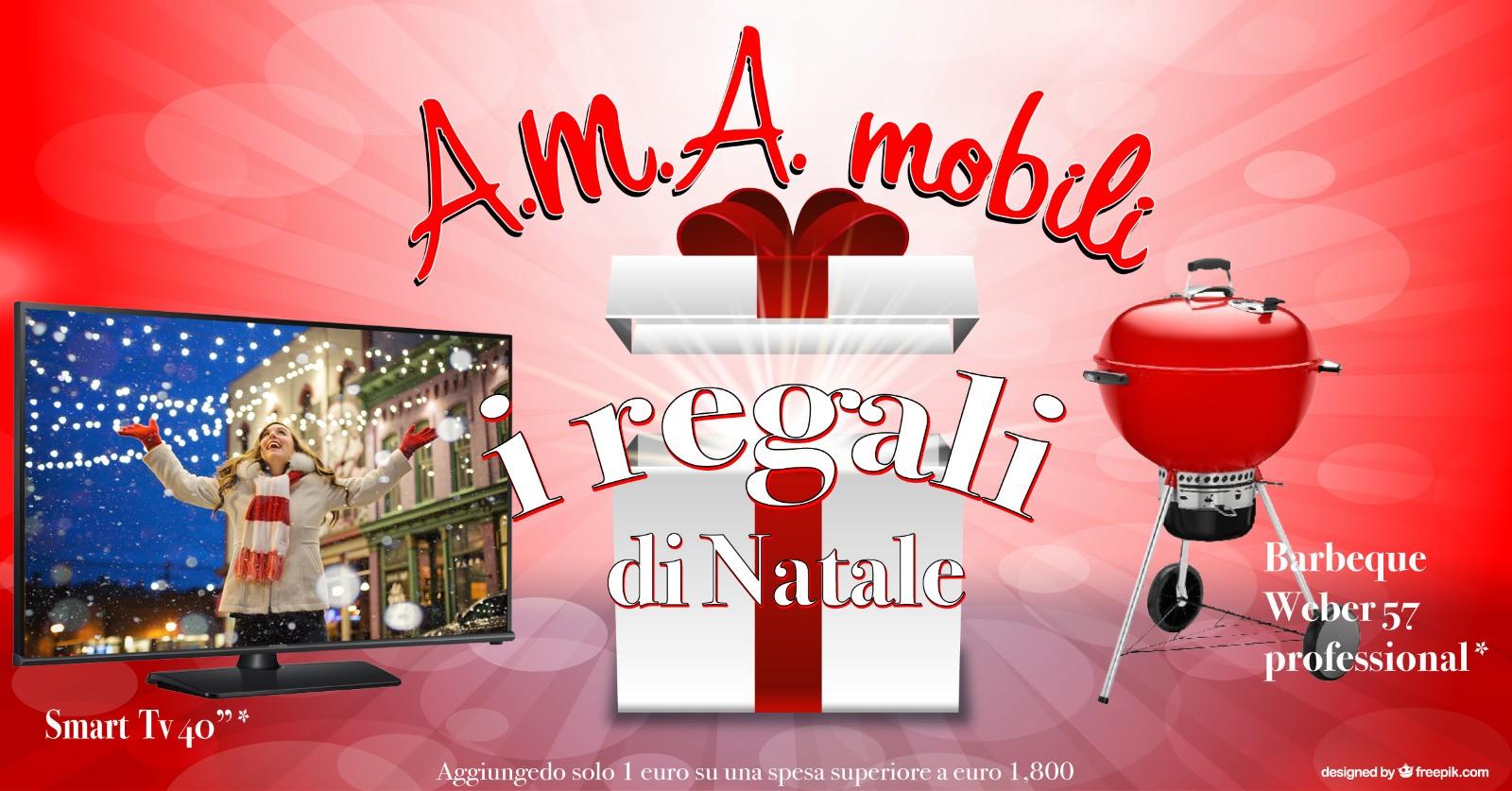 Regali Di Natale Da 1 Euro.Momenti Magici Da Ama Mobili Con I Regali Di Natale Ama Mobili